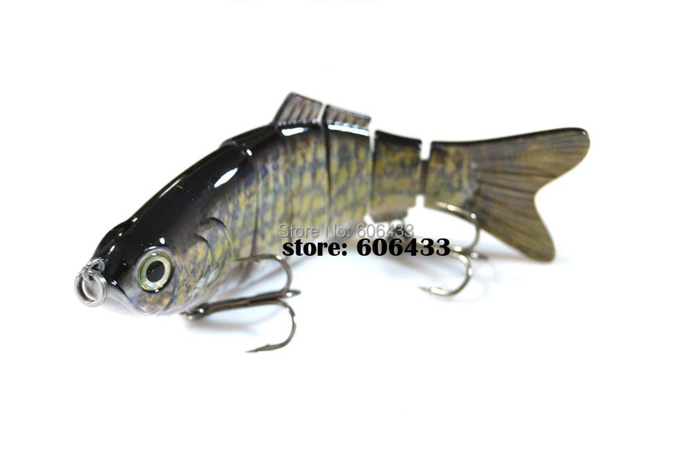 Deep Sea Multi section Lure Fishing Fish Swing Lures 6 Segment Swimbait Crankbait 20cm/115g 8027-FL6B01 Free shipping