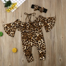 gxmjxdgmlndcp Ins Little Leopard Kids Girl Off-shoulder