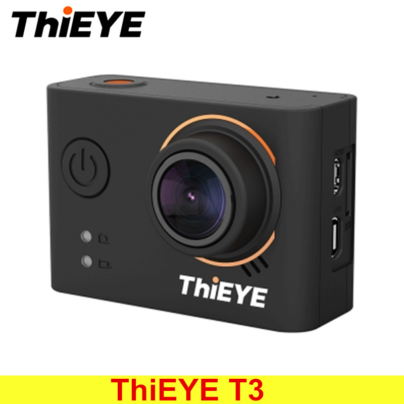 все цены на ThiEYE T3 Novatek 96660 Action Camera WiFi HD 4K 24fps 12MP Sports Camera 2'' TFT LCD Screen 40m Waterproof 1080P Sport Camera