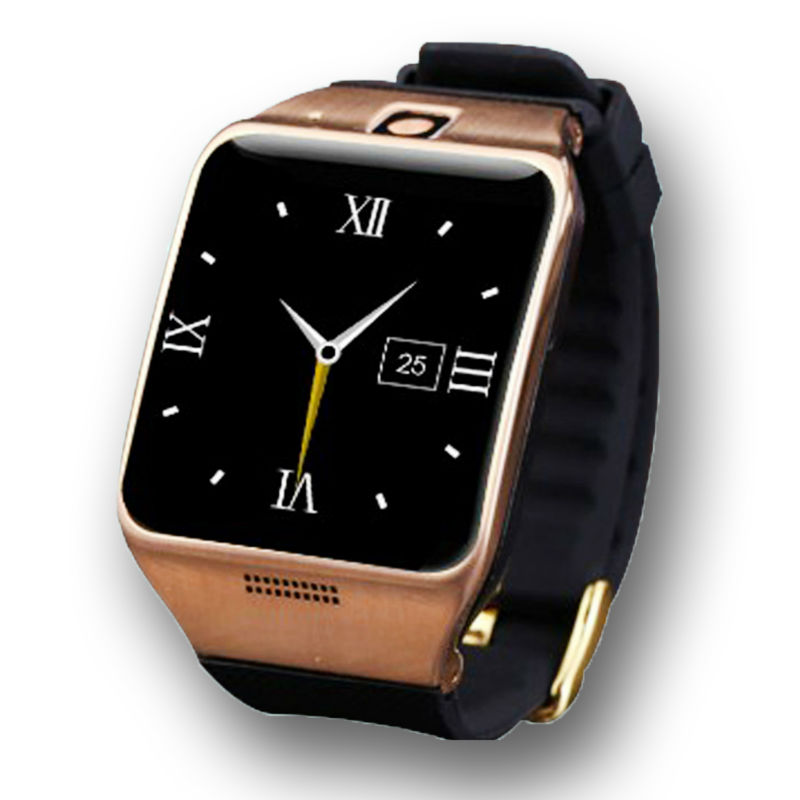 Smart watch lg128 smartwatch portátil con nfc, soporte gps tarjeta sim 1.3mp cám