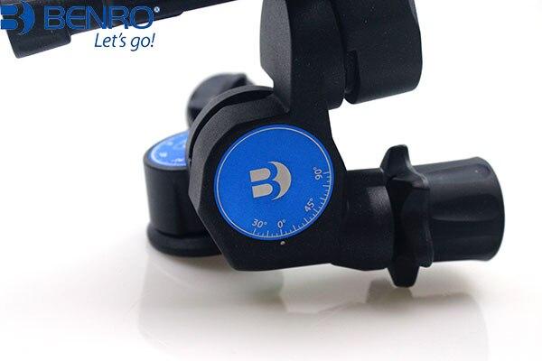 Benro Pro 3 Vie Orientata Ingranaggio Testa del Treppiede GD3WH - 5