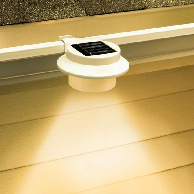 Automatisierte Schalter Led Solar Licht Im Freien Garten Dekoration  Landschaft Rasen Solar Power Panel 3 LED