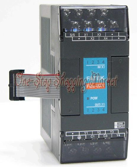 ФОТО Brand New Original FBs-8XYT-AC PLC AC220V 4 DO 4 DO transistor Module
