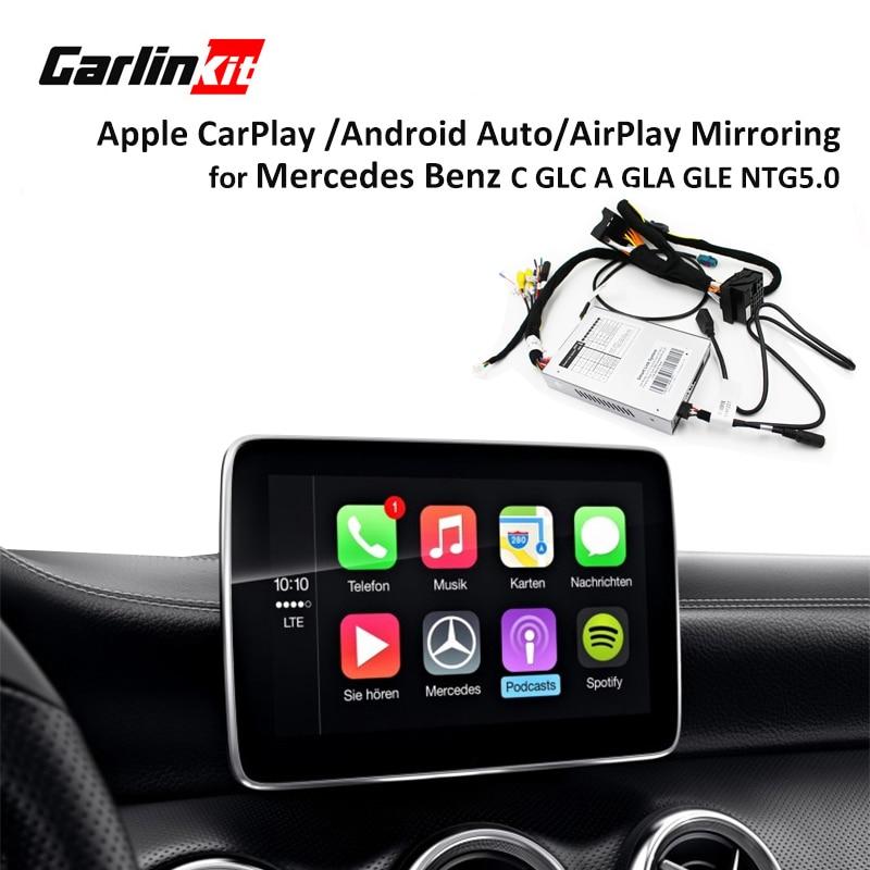 Multimedia Smart Car Retrofit With Apple Carplay Box For Mercedes