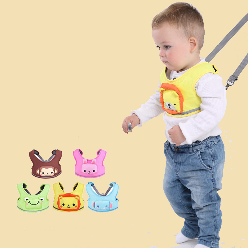Animal Baby Toddler Child Harness Backpack Leash Baby Safety Harness Learning Assistant Walk Luminous Walking Wings Can Ring