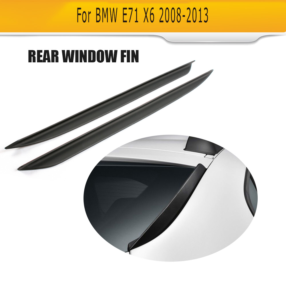 For BMW X6 E71 2008 2013 PU Rear window boot lip Spoiler wing
