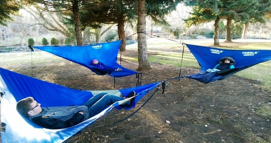 Nylon Triangle Hammock In Hammocks From Furniture On Aliexpresscom