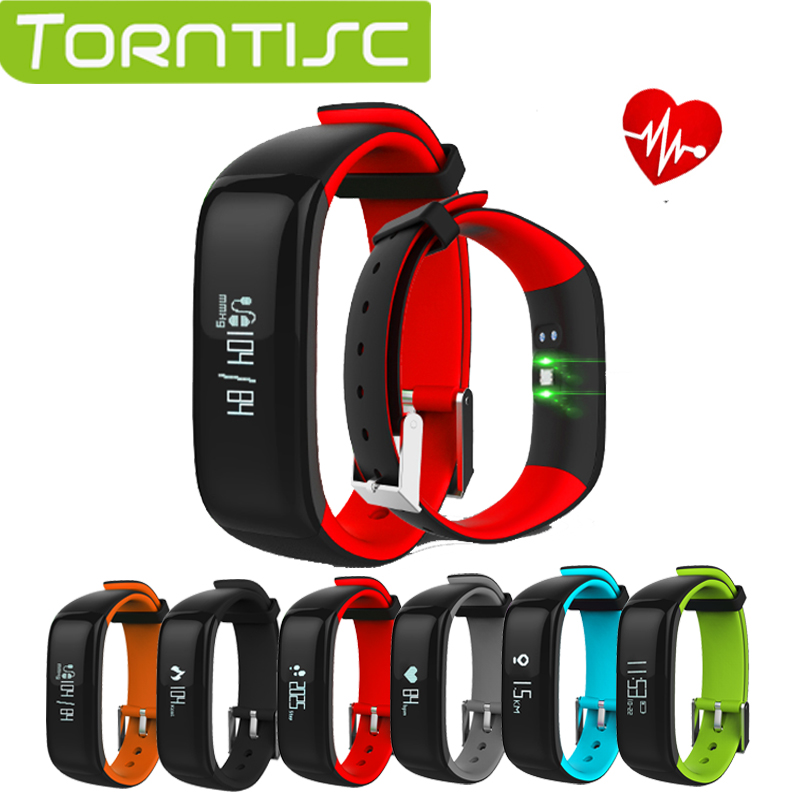 2017 Torntisc P1 smart band Blood Pressure Heart Rate Monitor Smart Bracelet Waterpoof Bluetooth Smartband For