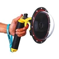 SJCAM SJ6/SJ7/Sj4000/H9 Monopod Floating Trigger Ball Camera Water Lens Hemispherical Diving Housing Accessories Waterproof Case