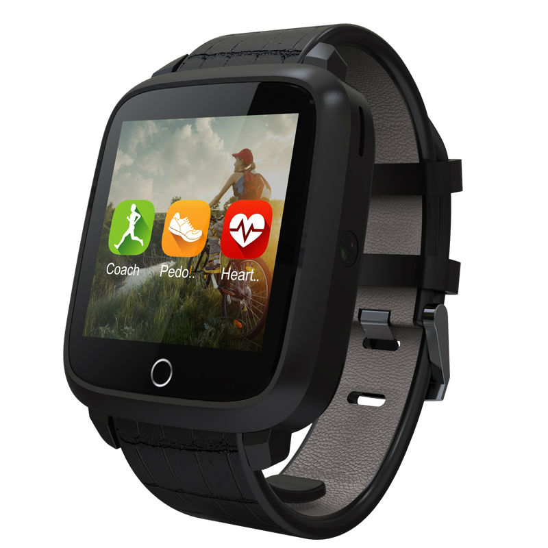 2018 U11S Bluetooth Smart Watch Heart Rate Monitor 1G RAM 8G Memory ROM Watch Support GPS Android Wifi Camera Smart Wristwatch