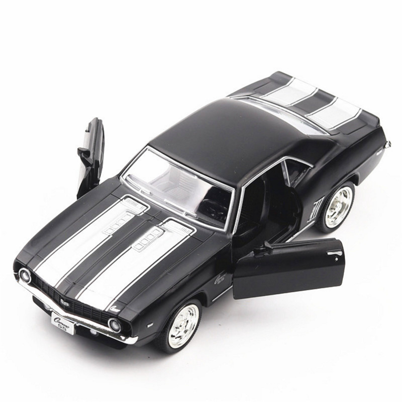 1:36 American muscle car Toy Car Chevrolet Camaro Metal Toy Diecasts ...