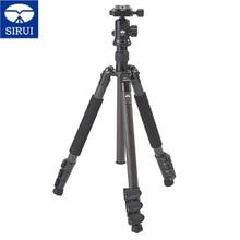 SIRUI Portable Digital Camera Tripod Kit Carbon Fiber Tripod Ball Head Stable Reflexed Photography Bracket For Canon Sony Nikon