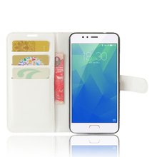 High Quality Luxury Leather Flip Case For Meizu Meilan 5S Smartphone Wallet Stand Cover With Card Holder For Meizu Meilan 5S