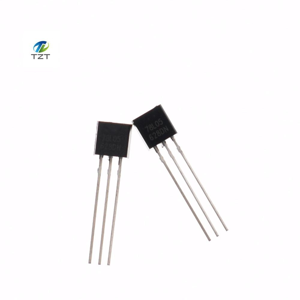 Hot Sale 100pcs 78l05 L78l05 Linear Voltage Regulators 50v 01a Positive To 92 New Original