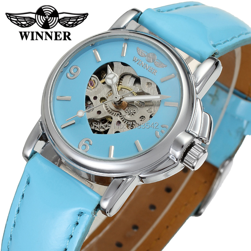 Winner Watch Newest Design Watches Lady Top Quality Watch Factory Shop Free Shipping WRL8011M3S2