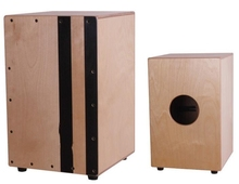 Adult Cajon font b Drum b font Birch plywood Normal Color EMS free shipping font b