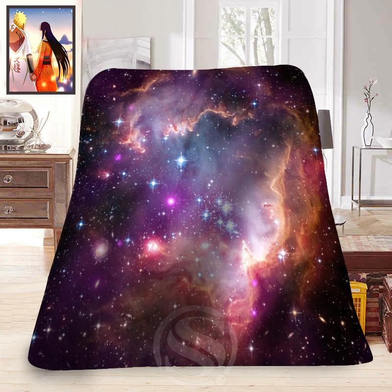 Fashion Blanket Space Universe Galaxy Nebula Printed Soft Fleece Blanket Comfortable Blanket Sofa Blanket unisex galaxy nebula space sweatpants joggers sportswear pants blue l