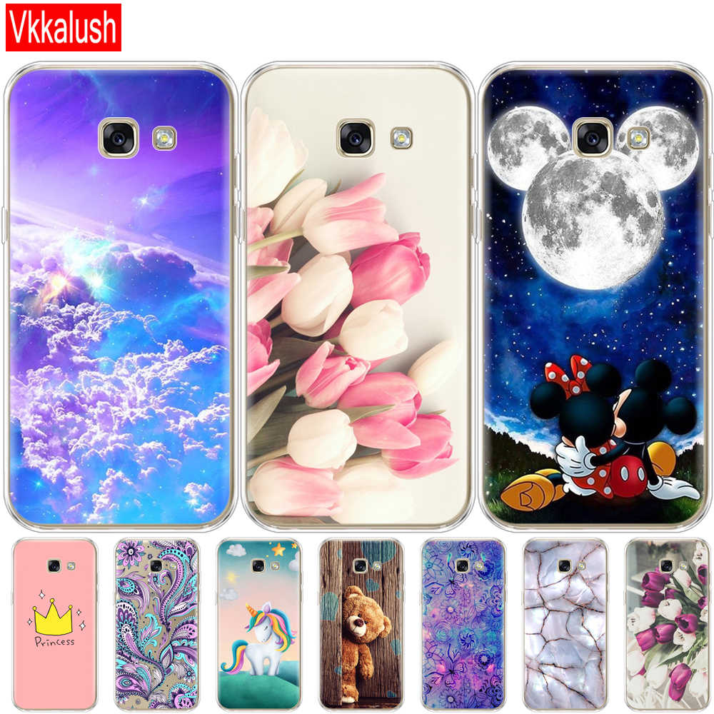 Silicon Case For Samsung A5 2017 Case Soft Tpu Phone  For Samsung Galaxy A5 2017 SM-A520F Cover For Samsung Galaxy A5 2017