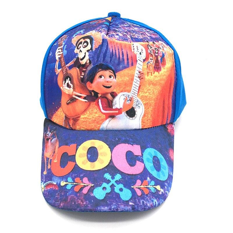 Kartun Coco Bayi Topi Anak Laki Lucu Miguel Keren Moana
