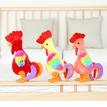 Electric Funny Chicken Plush Toy Sing Dancing Interactive Stuffed Animal Chicken Plush Toys Birthday Gifts For Baby and Children