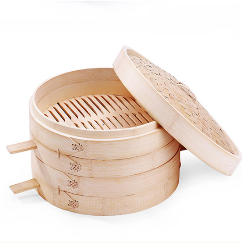 Bamboo Steamer Basket One Cage or Cover 14