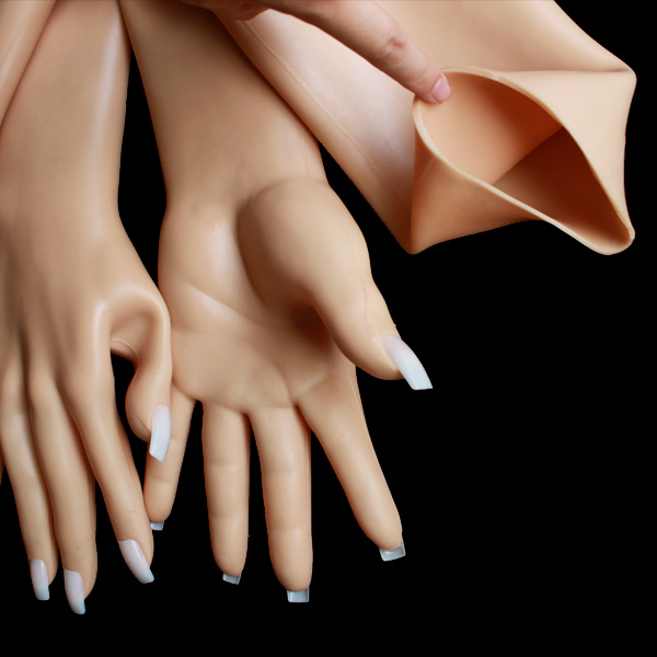 G2 Top quality silicone gloves latex gloves halloween party transvestites and crossdresser for men free shipping