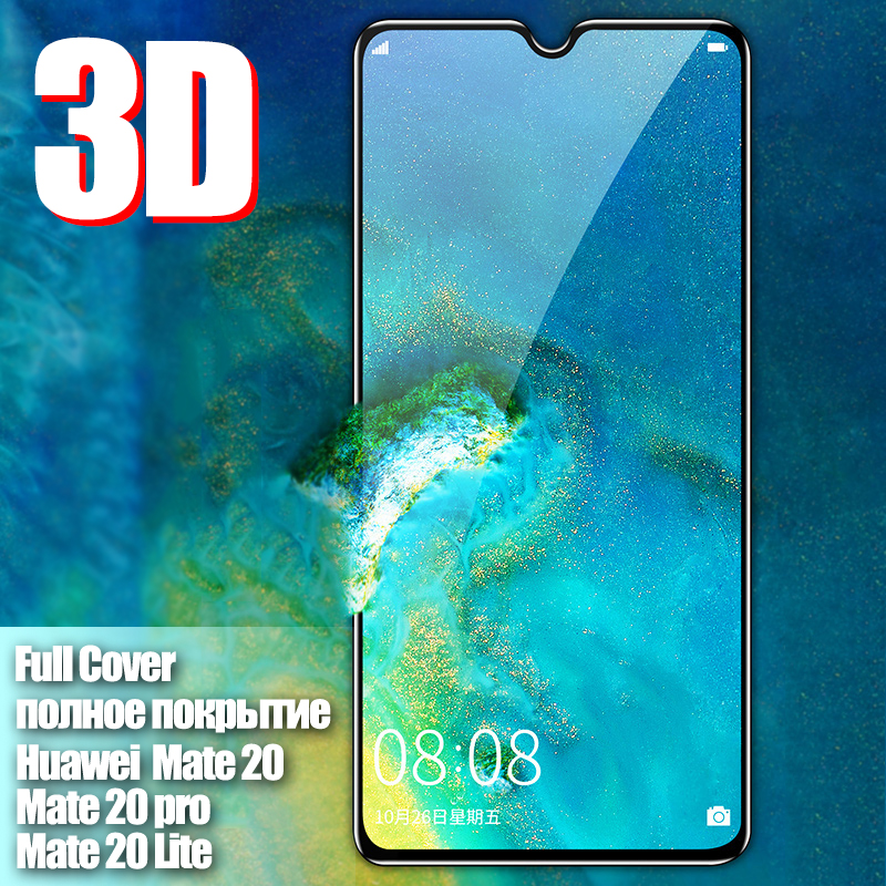 Tempered Glass On For Huawei Mate 20 Lite Phone Film For Mate 20 Light Curved Protective Glass For Mate 20 Pro Screen Protector