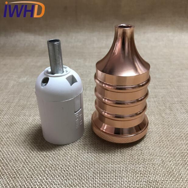 Portalampada, винтажный E27 патрон для лампы, фитинг, промышленный стиль, дуиль E27, винтажный патрон для лампы Эдисона, подвесное основание для патрона - Цвет: 9