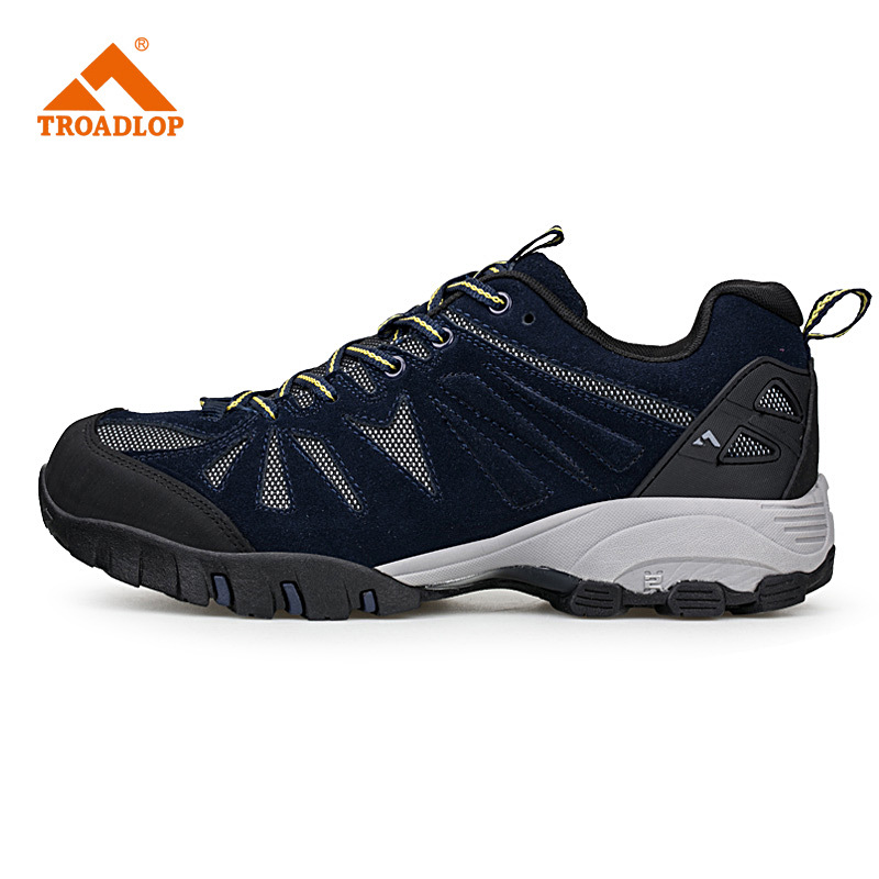 2016 New men hiking shoes non-slip waterproof women trek climbing shoes outdoor breathable mountain trial lover trekking shoes 2016 new couple hiking shoes breathable non slip outdoor sports shoes large size climbing shoes for men and women
