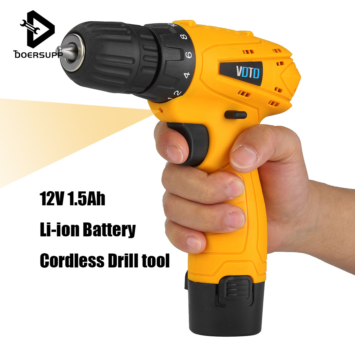 12 Volt Cordless Screwdriver Kit Waterproof Electric Drill Power Tools 10mm Chuck Drill Screwdriver with Lithium-ion Battery велосипед silverback stride 15 2014