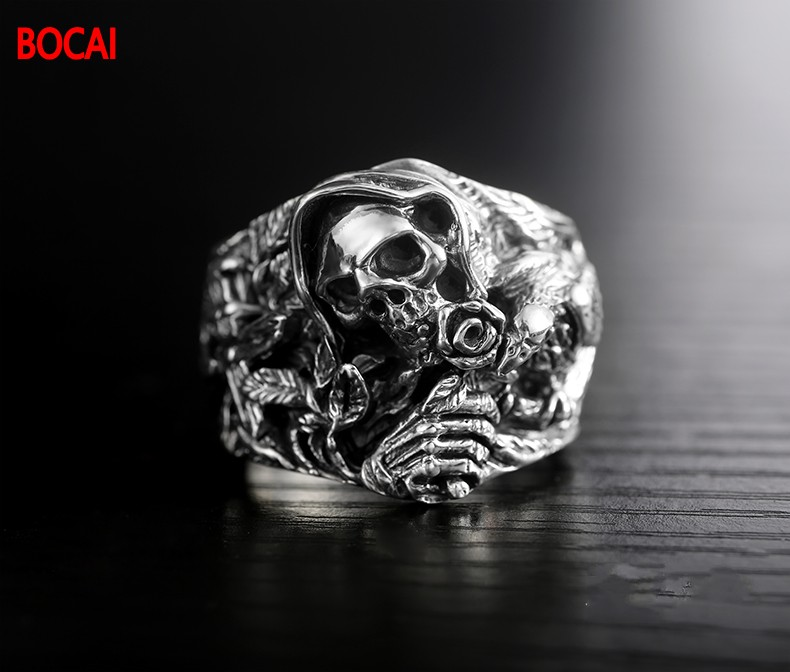 925 Sterling Silver Genuine Oriental Vibrations New Dragon Ring