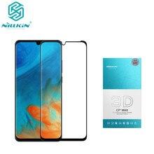 NILLKIN Erstaunliche 3D CP + MAX Volle Abdeckung Nanometer Anti Explosion 9 H Gehärtetem Glas Screen Protector Für Huawei p30 Pro