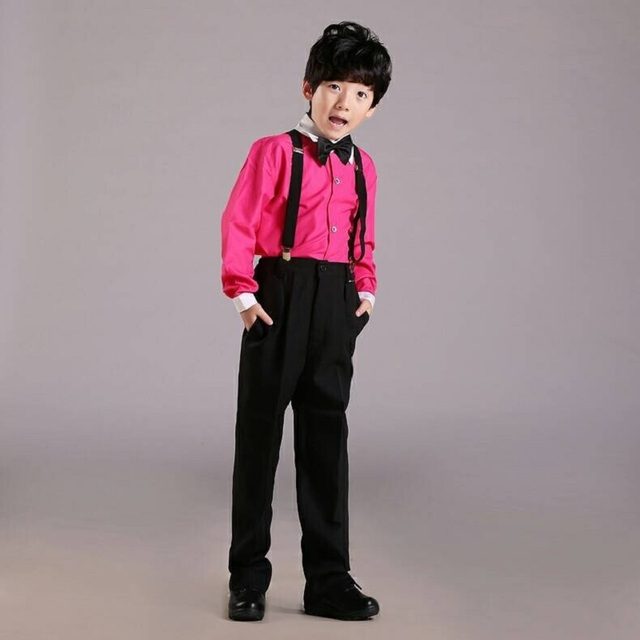 High Quality Kids Prom Suits Formal Dress Boys Clothing Set Boys