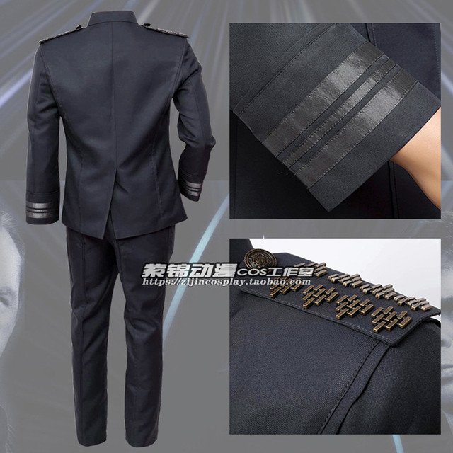 Free Shipping Cosplay Costume Star Trek Into Darkness Kirk Uniform Halloween Christmas Anime  Game 2