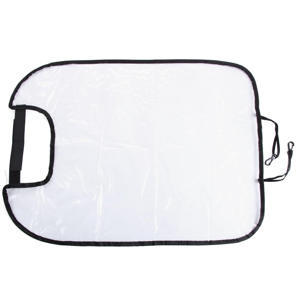 QDLK Car Seat Back Cover Baby Toddler Anti Kick Mat Back Seat Protection Protector Covers Sheet Auto Liner Vehicle Mat Mud Dirt