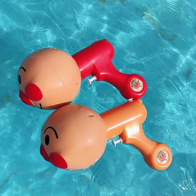 Creative Anpanman Summer Toy Water Gun Children's Bath Outdoor Sport Toys Boy&girls Summer Vacation Toy Gift