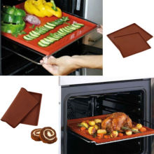 New Silicone Bakeware Baking Dishes Pastry Tray Oven Rolling Kitchen Mat Sheet