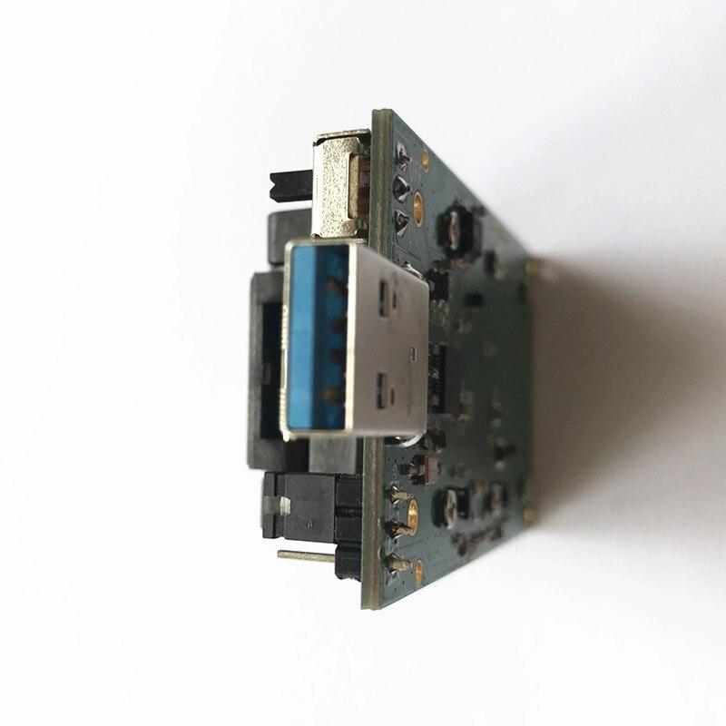 Livraison gratuite BGA254 eMCP254 port prise de Test avec Interface USB 3.0 NAND Test flash prise de programmation à clapet - 4