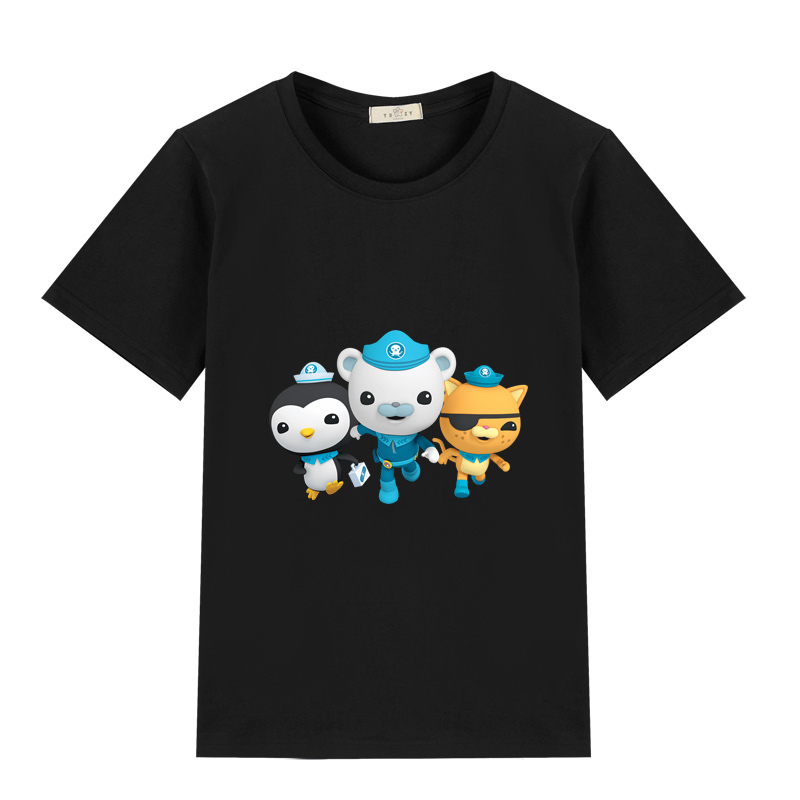 Snail Pipe Kids Cotton T-Shirt Basic Soft Short Sleeve Tee Tops for Baby Boys Girls