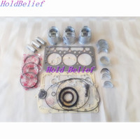 Overhaul Rebuild Kit Parts For Kubota D722 With Piston and Ring Over size +0.50mm