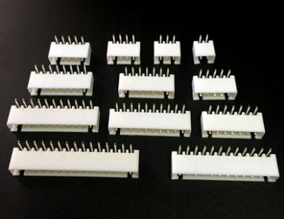 цена 20Pcs XH2.54 2P/3P/3P/4P/5P/6P/7P/8P/9P/10P/11P/12P XH2.54 Bend Right Angle PCB Male Box Header Bar Connector Pin Header Socket