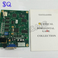 5PCS Classical Game 19 in 1 game PCB board Jamma multi support CGA and VGA,suitable for horizontal monitor