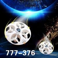 Magia UFO rc Drone Bezgłowy Tryb 777-376 2.4G 4CH 6 Osi RC wywinięcie pilot Quadcopter z podświetleniem led 3D zabawki VS gi CX-31