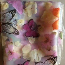 5 meters a lot butterfly flower pattern curtains tulle fabric wholesale