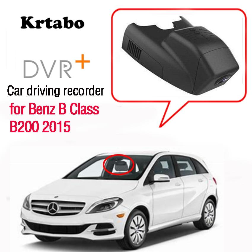 Pour Benz B classe B200 2015 voiture Dvr Mini caméra Wifi FHD 1080P enregistreur de conduite voiture Dash Cam enregistreur vidéo HD
