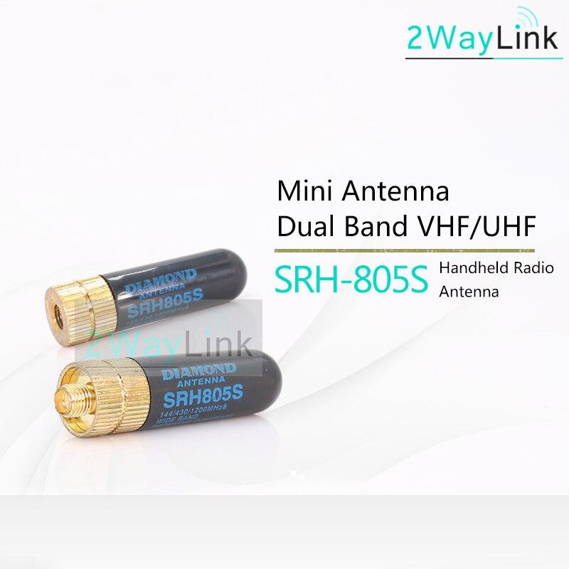 Mini Handheld Radio Antenna SMA Female 5cm for Baofeng GT-3 UV-5R BF-888s