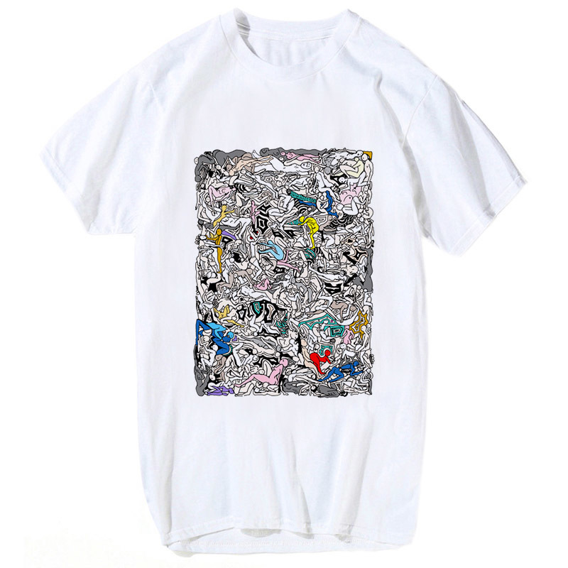 brazzers T-shirt funny design printed t shirt men cartoon 2018 cool funny  white tshirt bb2165e6face