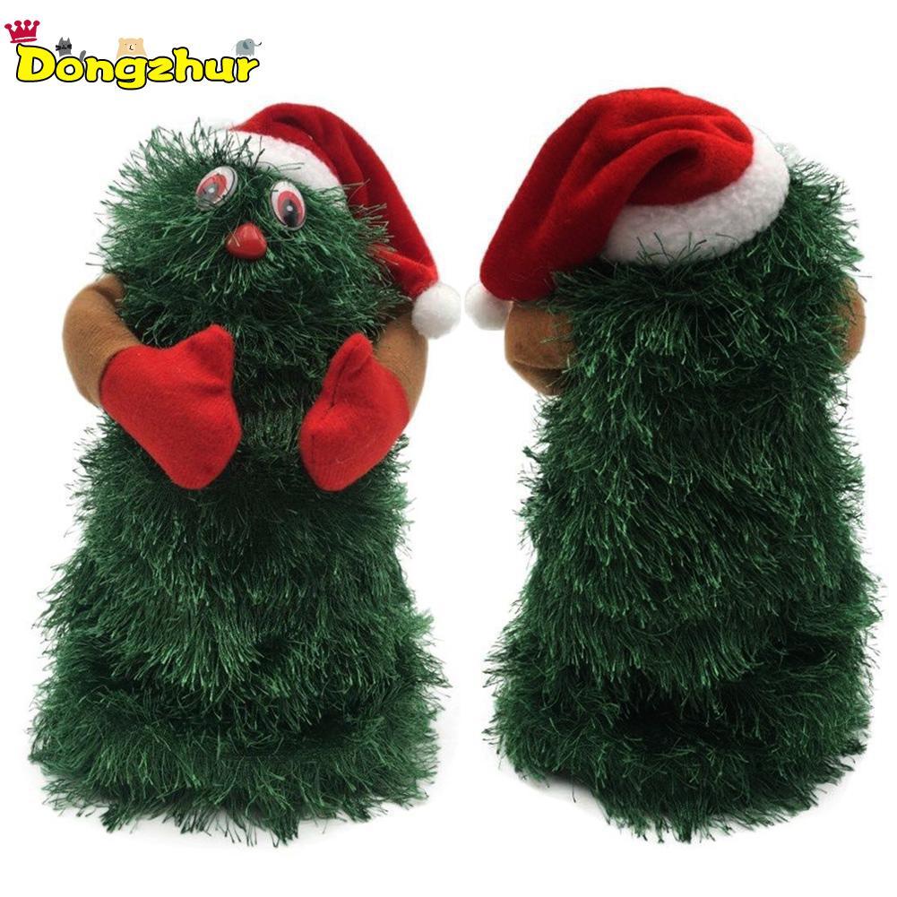 Jij4130 Ausreichende Versorgung keine Batterien Elektrische Santa Claus Puppe Mit Musik Rotierenden Tanz Baum Weihnachten Baum Spielzeug Weihnachten Geschenk Für Kinder