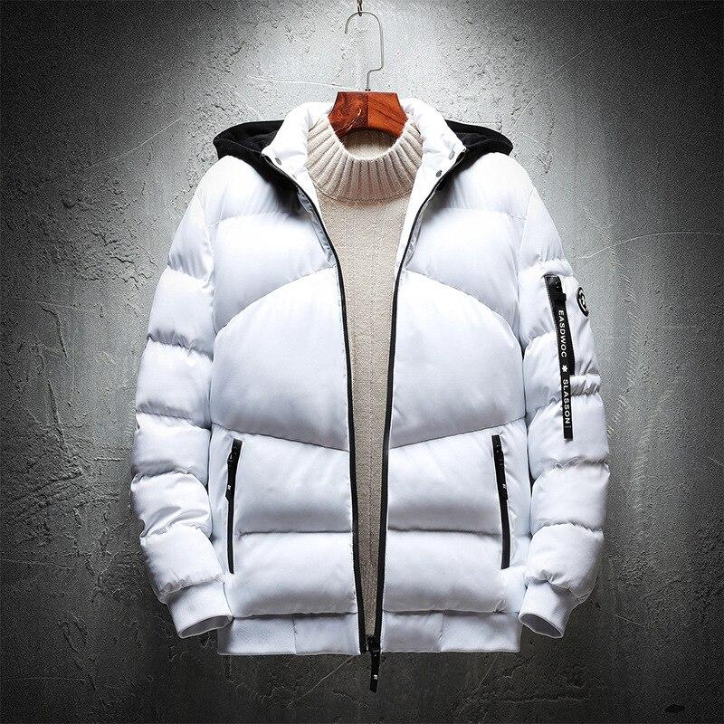 Plus Size  4XL 5XL 6XL 7XL  Men Hooded Winter Padded Warm Jackets 102