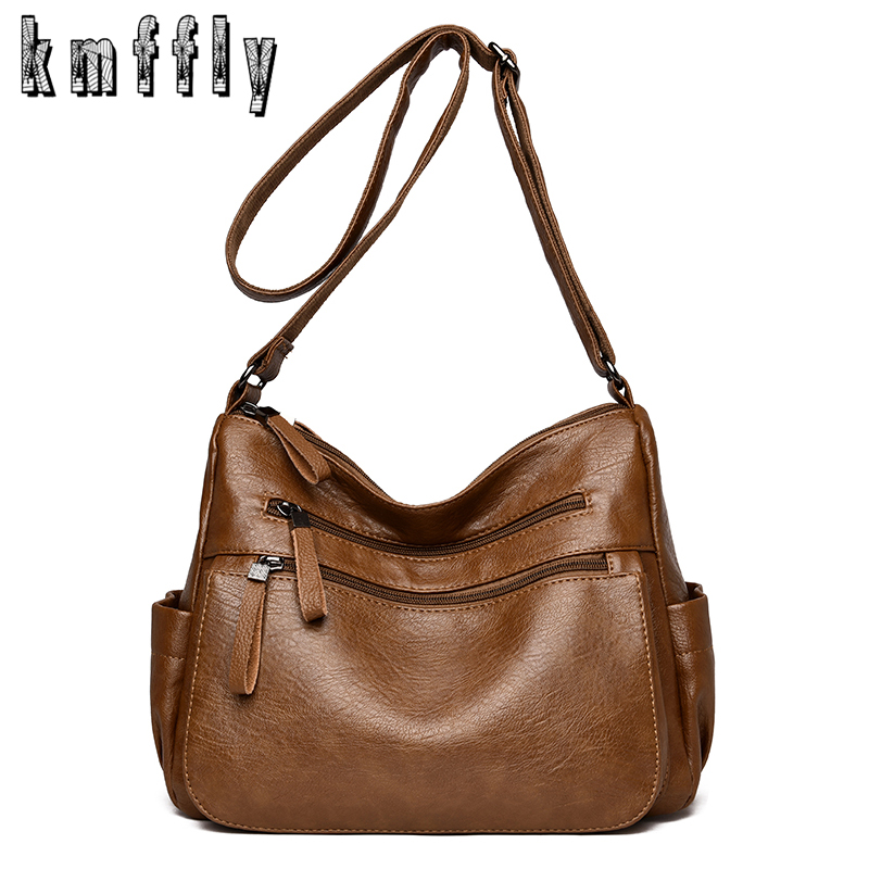 KMFFLY Luxury Handbags Women Bags Designer High Quility Leather Women Handbag Summer Style Women Bag Shoulder Bags Sac A Main